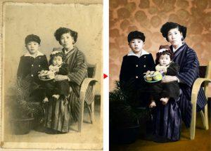 古写真⇒カラー化